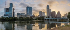 Austin at dawn (nilswer) Tags: austin texas atx usa vereinigte staaten amerika america murica panorama sunrise dawn sonnenaufgang sonne morgen frh morning early city cityscape skyline stadt fluss river colorado ladybird lake hdr fuji xtrans 35mmf2 fujinon