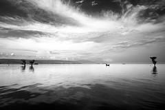 (riasat rakin) Tags: bangladesh tanguar sylhet haor cloud boat texture