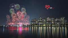 NDP 2016 (Mabmy) Tags: singapore ndp2016 ndp colors sparklers fireworks pyro tanjongrhu 51st composite longexposure sony a7rii voightlander 12mm