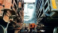RYOE (BLACK VOMIT) Tags: graffiti ryoe cbs aub aubs rail art boxcar box car freight train