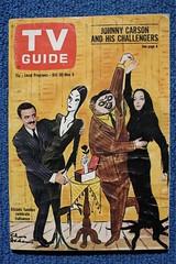 Addams Family TV Guide (1965) (Donald Deveau) Tags: addamsfamily tvshow 1960stv classictv morticia gomez tvguide