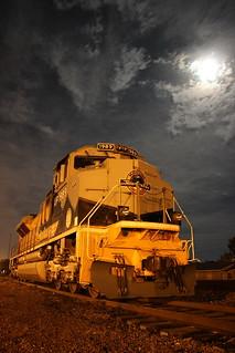 Moon Over The Rio Grande