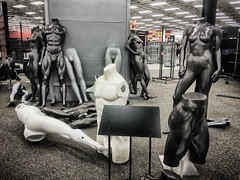 IMG_1561-Edit (jbrownell) Tags: monochromatic mannequin headless empty parts sportsauthority limbs clearance outofbusiness nude sale anatomy creepy closing figures store sports iphone urban statue grainy gritty