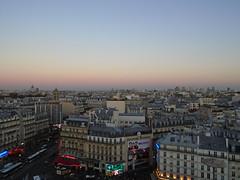 Sunset @ Tour CIT @ Montparnasse @ Paris (*_*) Tags: france paris montparnasse europe city autumn fall 2016 october