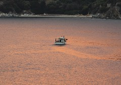 day leaving relaxing.... (spicros78) Tags: boat ships relax evia agioiapostoloi sea sunset canon50d