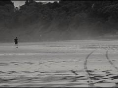 Go your own way.... Suis ton propre chemin... (alainpere407) Tags: alainpere bretagneennoiretblanc bretagne breizh brittany penarbed sainteannelapalud jogging plage beach saariysqualitypicturesgallery