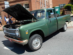 1971 International 1110 (splattergraphics) Tags: 1971 international 1110 pickup truck 4x4 carshow charlestownwv