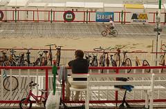 Belgian coast (Natali Antonovich) Tags: belgiancoast seasideresort seaboard seashore seaside portrait lifestyle relaxation bikes family spectator