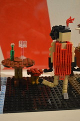 Flapper Girl Dancing the Charlston (CoasterMadMatt) Tags: bricksintime2016 bricksintime bricks time legoexhibition legomodels lego exhibition model models exhibits rhegedcentre rheged centre redhills penrith britishicons icons flappergirl flapper girl charleston inlego britishhistoryinlego brightbricks bright lakedistrict thelakedistrict lake district cumbria northwestengland england britain greatbritain gb unitedkingdom uk summer2016 august2016 summer august 2016 coastermadmattphotography coastermadmatt photos photography nikond3200