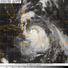 Hurricane Matthew crosses over Haiti and Cuba. (Official U.S. Navy Imagery) Tags: hurricanematthew storm gtmo meteorology weather shelter evacuation navy usnavy