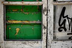 When. (Lord Markus) Tags: door porta abandoned abbandonato urbex abbandono urban explorer green wood rotten rusty rust ruggine legno marcio wideangle railway rail yard depot deposito ferroviario scalo ferrovia treni trains decay degrado graffiti textures nikon d300s sigma 1020