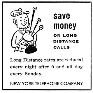 NY telephone yellow pages ad save money