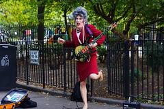 Rock! Mrs. Smith (Xu@EVIL Cameras) Tags: enna ennalyt 50mm f19 socket ver1 exakta portrait rock n roll street performance