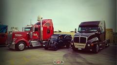 Big Meet Malta (Daniel's Transport Photos) Tags: kenworth ford t2000 w900 trucks halfar truck malta classic
