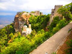 Erice (Sicily) (ClaudioLicataPA) Tags: erice sicily italy middleage medioevo castello erix