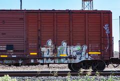 (o texano) Tags: houston texas graffiti trains freights bench benching phone wh