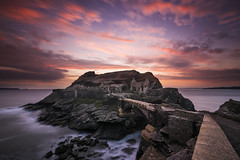 Fort des Capucins (Tony N.) Tags: france bretagne finistère crozon fortdescapucins capucins fort sunset coucherdesoleil poselongue longexposure d810 nikkor1635f4 vanguard tonyn tonynunkovics