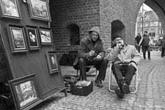 Painters in Warsaw (xrpo) Tags: places varsovie oldtown warsaw painters art painting