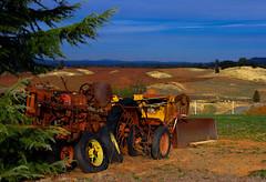 IMGP7301a (maberto) Tags: california tractor photoshop landscapes wine pentax shenandoahvalley hdr winecountry eldoradocounty driven photomatix bradmaberto