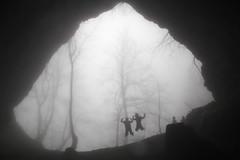jump  (cyberjani) Tags: slovenia cave rakitna vihrovica