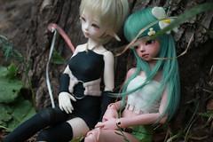 Amalia and Eva cosplay (Vitarja) Tags: misamisa soom pel amalia wakfu luts yul eva bjd savitri