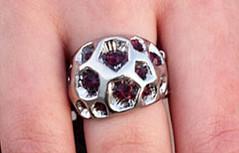 Glimpse of Malibu Purple Ring K1 P4160-2