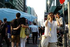 Umbrella Revolution #398 () Tags: road street leica city umbrella hongkong freedom democracy movement day candid protest rangefinder stranger demonstration revolution 40mm kowloon mongkok socialevent m9 summicronc f20 occupy mmount umbrellarevolution leicasummicronc40mmf20 leicam9 occupycentral    umbreallarevolution