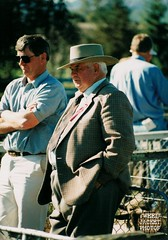 Gents A&P Show Fairlie 1990s 9 (80s Muslc Rocks) Tags: old newzealand wool senior hat 35mm photo pentax alt candid coat watching oldman grandpa pop pa jacket ap nz scanned older farmer grandad 1980s opa scannedphoto 1990s gentleman tweed granpa gentlemen snapped cavalrytwill tweedjacketphotos
