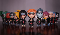 Akatsuki (ultimatekey) Tags: anime pain alley comic collectible tobi naruto figures akatsuki konan orochimaru itachi kisame hidan sasori deidara zetsu kakuzu