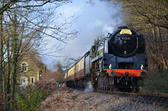 BR Standard Class 9F 92214 At Northwood (Simon Crowther Photography) Tags: