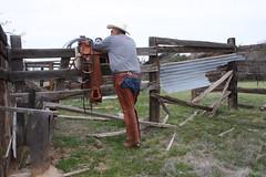 WRANGLER COWBOY (AZ CHAPS) Tags: ranch leather spurs cowboy desert boots wranglers chaps saddle corral