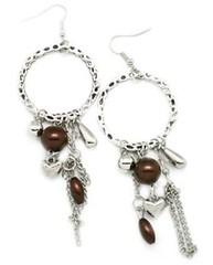 5th Avenue Brown Earrings P5312-4