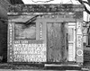 Leonard BBQ (sandimercado) Tags: bw building abandoned vintage downtown texas beef sausage bbq richmond barbecue ribs shack