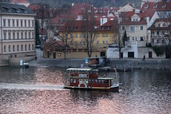 (Stationary Nomads) Tags: city bridge building art architecture river europe czech prague capital praha czechrepublic charlesbridge vltava stonebridge karlůvmost vltavariver 1357 kingcharlesiv praguebridge amenaamer