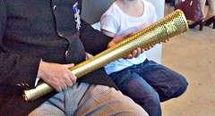 17 London 2012 Olympic Torch (robertknight16) Tags: torch olympics torchrelay cosford olympictorch londonolympics