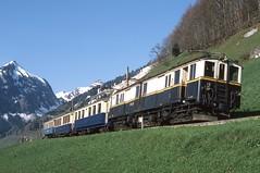 1980-05-11, MOB, Allières (Fototak) Tags: schmalspurbahn mob switzerland gruyère railway train treno 2001 goldenpass 101 102 42