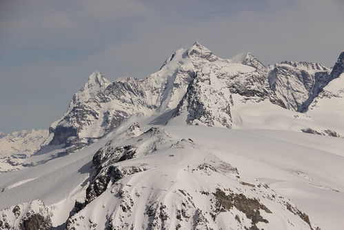 Eiger, Jungfrau and Rottalhorn