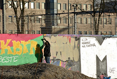 graffiti utrecht (wojofoto) Tags: holland graffiti utrecht action nederland netherland grindbak wolfgangjosten wojofoto