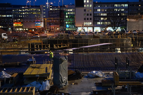 Wuppertal-Elberfeld, The Döppersberg construction site.