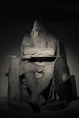 Holger The Dane (Mroder) Tags: water copenhagen soldier ship harbour helmet danish hero sword shield viking