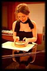Licia Missori recording @ Forward Studios