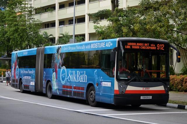 SMRT Buses Mercedes-Benz O405G Hispano Carrocera Habit