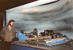 Bavaria Filmstadt 1991 (streamer020nl) Tags: city film germany movie studio munich mnchen airplane ed deutschland bavaria ruins accident aircraft 1991 allemagne muenchen filmstadt llh simair louiselh
