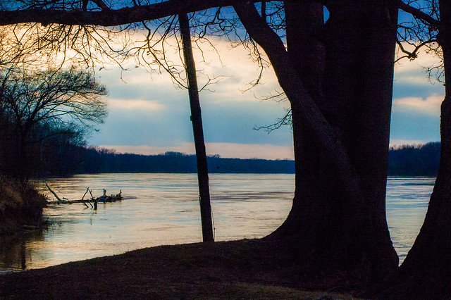 Harmonie State Park - Wabash River - January 6, 2015