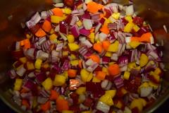 Prelude to Tomato Soup (jjldickinson) Tags: food cooking vegetable pot longbeach carrot onion wrigley redonion allclad masterchef nikond3300 promaster52mmdigitalhdprotectionfilter 100d3300 nikon1855mmf3556gvriiafsdxnikkor