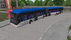 STCP 23m MEP QuadBus BRT - OMSI 2 (O530 Carris PT) Tags: stcp omsi brt mep articulado 23m quadbus