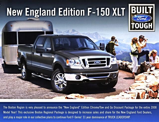 new england ford boston pickup f150 edition brochure 2008 region xlt