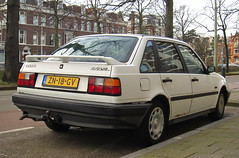 1991 Volvo 440 GL 1.7 Automatic (rvandermaar) Tags: volvo automatic 17 1991 440 volvo440 gl sidecode4 zn18gv