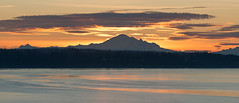 Tsawwassen sunrise 2015 (Gord McKenna) Tags: ocean ferry sunrise volcano mt baker bc pacific mount tsawwassen gord ferries mckenna gordmckenna