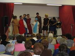 Grupo de teatro do Concello de Sandis na actuacin de fin de curso de xuo de 2007. (Capitn Limiao) Tags: rural teatro galicia actividades ourense sandis limia culturais concellodesandis